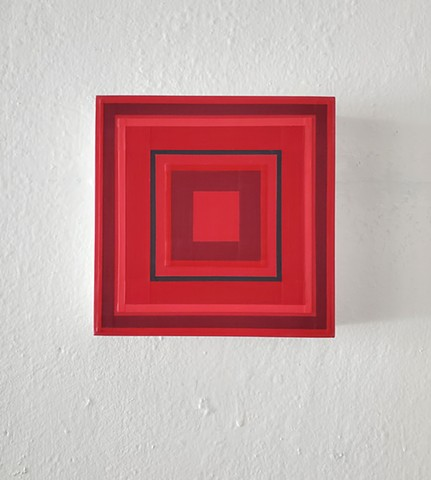 square, hardedge, geometric, yong sin, contemporary art, modern art,