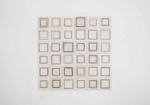 square, squares, drawing, works on paper, minimal, geometric, abstract, repetition