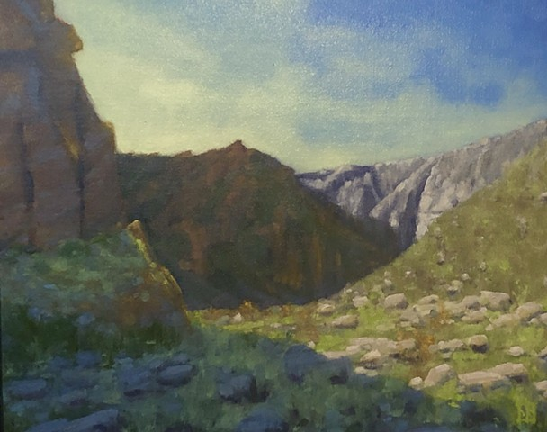 Tahquitz Canyon - Light and Shadow