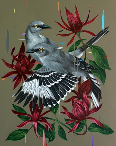 Mockingbirds and Calycanthus