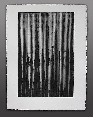 Black and White Water Media on 300 lb. Paper #3