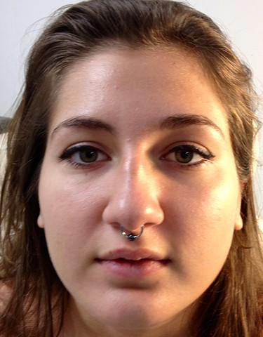 septum piercing, piercing, piercings, body piercing, piercer, body piercer, Orange Park Piercer, All Aces Tattoo, Katherine Veronica, Best of Clay County 2019