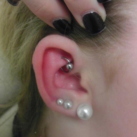 rook piercing, ear piercing, ear piercing, starter jewelry, body piercing, piercer, Katherine Veronica, All Aces Tattoo, Orange Park Piercer, Piercings Near Me