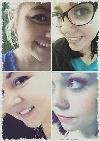 nostril piercing, nostril piercings, body piercing, body piercer, Katherine Veronica, All Aces Tattoo, piercing shop, piercing studio, Best of Clay 2019