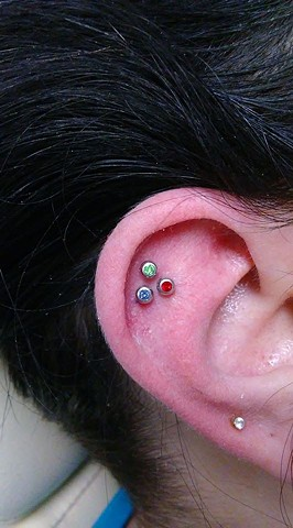 constellation piercing, piercing, piercings, piercer, body piercing, piercing shop, piercing studio, All Aces Tattoo, Katherine Veronica, Best of Clay 2019