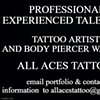 """All Aces Tattoo and Body Piercing """"LLC"""""""