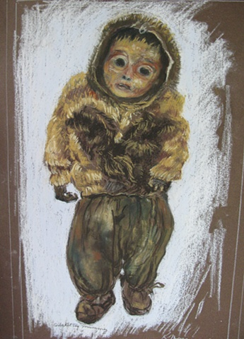 NW American Indian Child Mummy