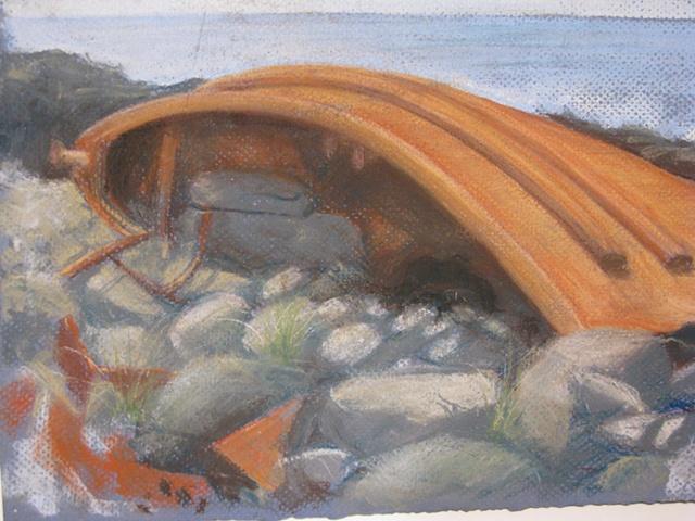 Monhegan Fishing Boat