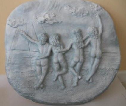 Four Women at the Beach
