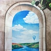 Mural at Rocco's Italian Restaurant Colorado Springs, Colorado