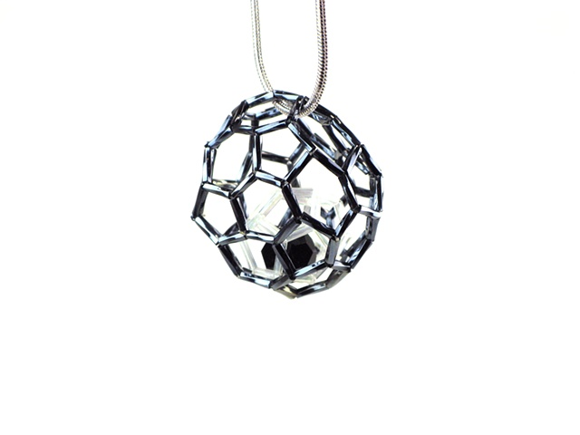 Black & White Geom Pendant