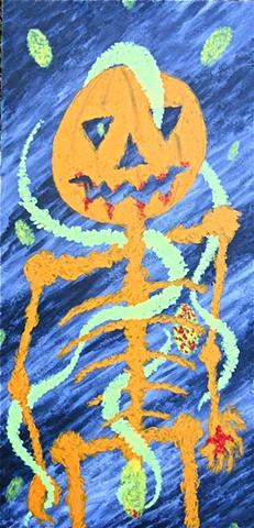 The Incredible Pumpkin Man