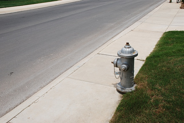 Hydrant in the heat