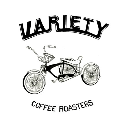 Commission for Variety Coffee, Mug Design.