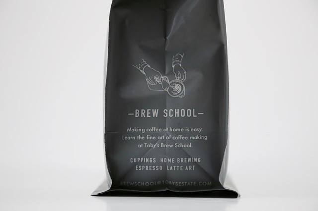 Toby's Estate Coffee, NYC, Retail Bag design/Illustration
