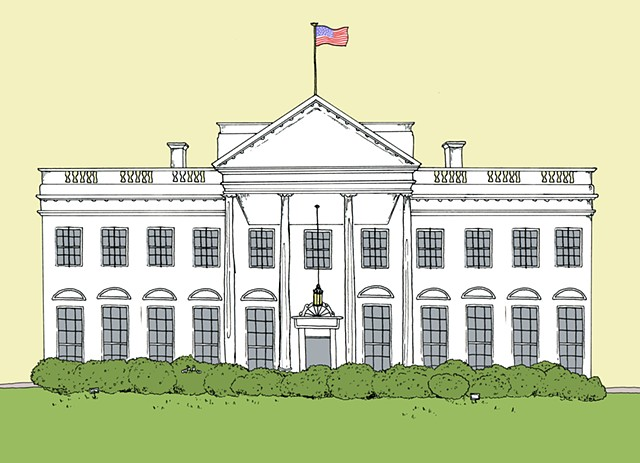 White House, Background Asset