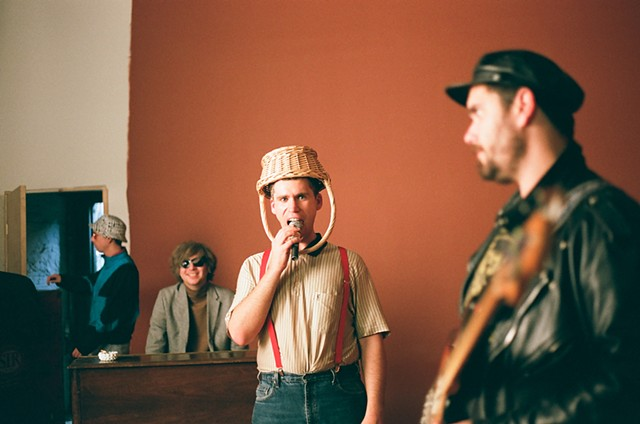 "Parquet Courts ""Freebird ll"" Music Video //BTS"