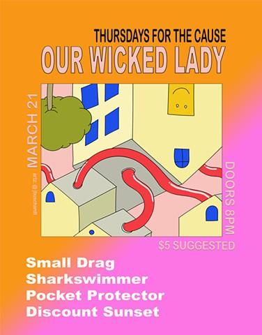 Our Wicked Lady, Show Poster