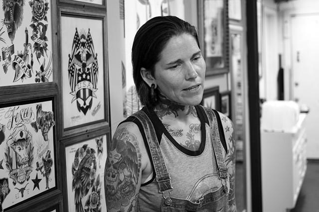Austin Tattoo Co.  Portrait
