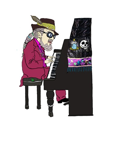 Dr. John and his voodoo magic