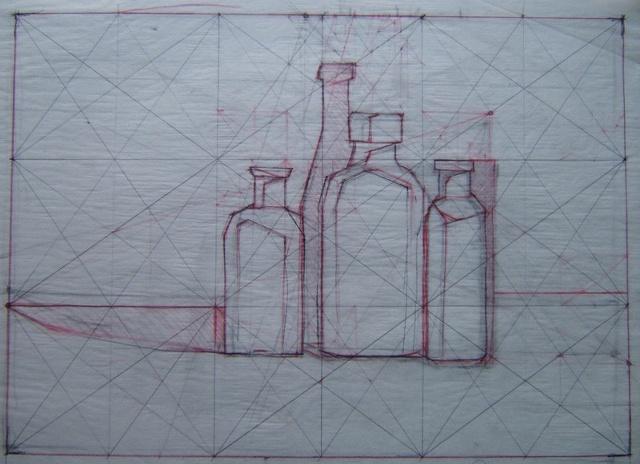 bottle project: golden section