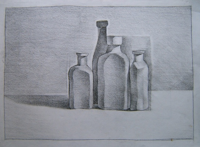 bottle project: final rendering