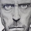 hugh laurie portrait