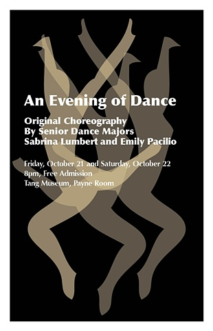 An Evening of Dance Poster