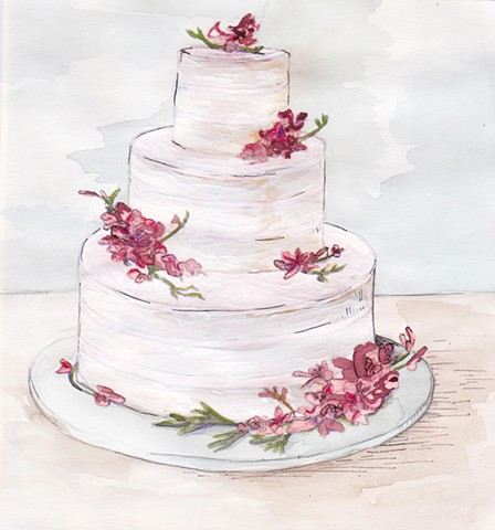 Luckybird Wedding Cake