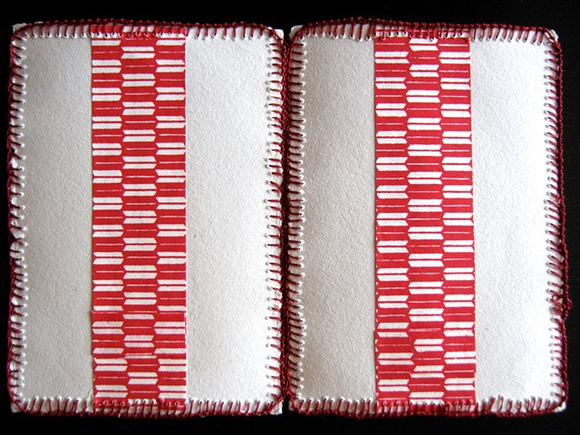 Red Stripes (Pair)
