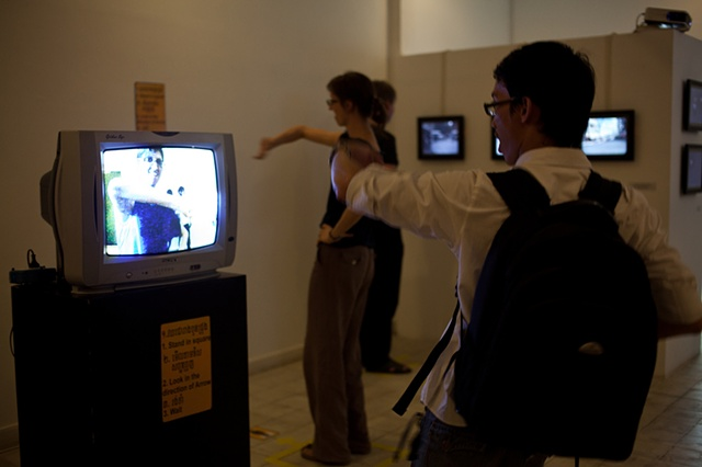 Talk to Strangers- Stand Here and Wait Installation View