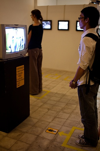 Stand Here and Wait - Installation View