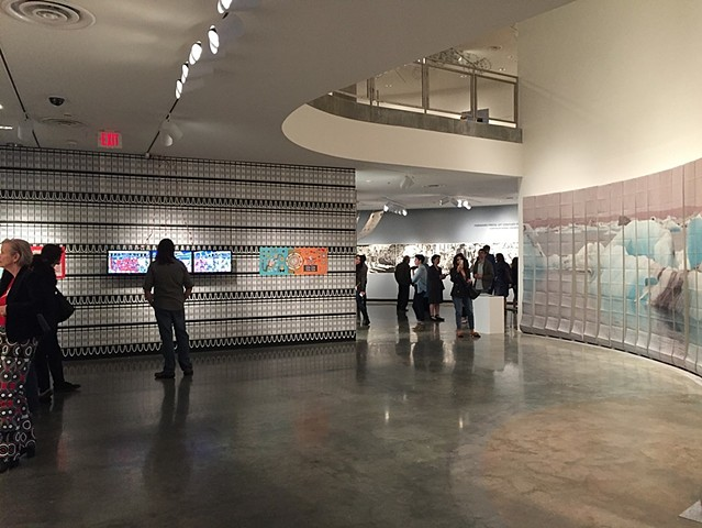 """The Wall"" Installation View"