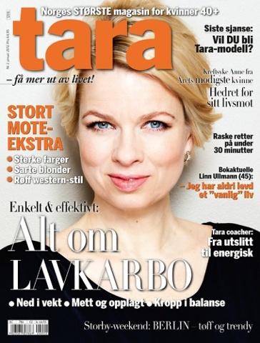 LINN ULLMANN - Author Tara Magazine January 2012
