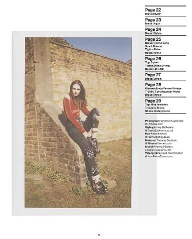 Kinki Magazine March 2012