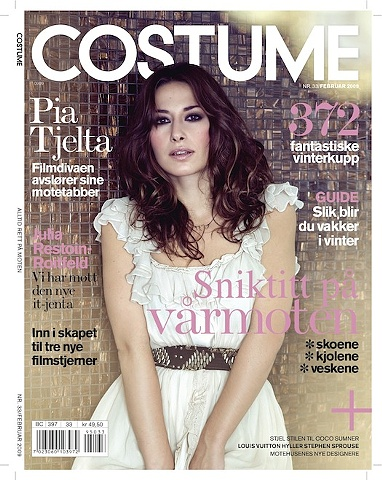 COSTUME Pia Tjelta - Actress