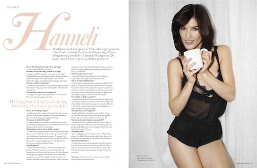 HANNELI MUSTAPARTA, blogger Costume Beauty