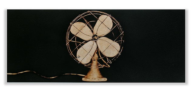 Image of a 1930 era fan