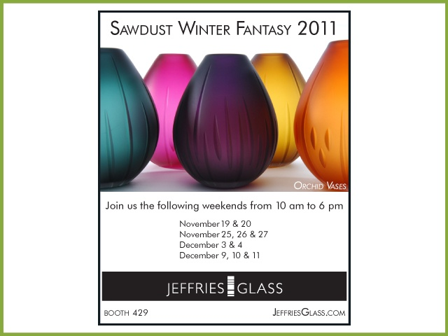 Sawdust Winter Fantasy Invite Christopher Jeffries Glass