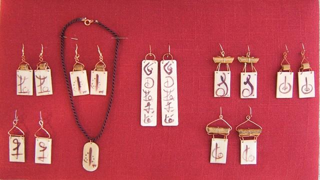 earings and pendants