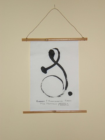 wall hanging for awarness awakening