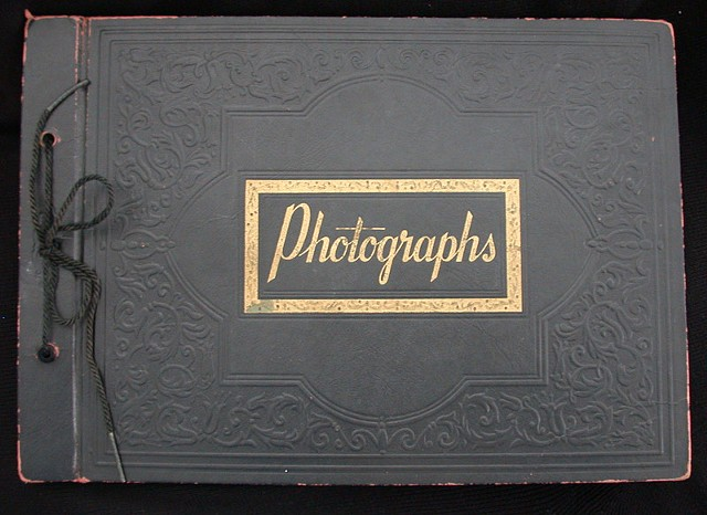 Any'a photography album, given to me by my grandmother
