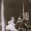Anya & her friend, the vaudeville opera star, Miss Magnolia Blossom, outside of Dayton Ohio