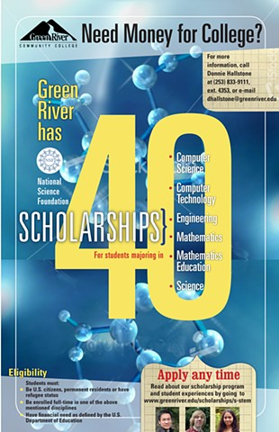 National Science Scholarship Poster