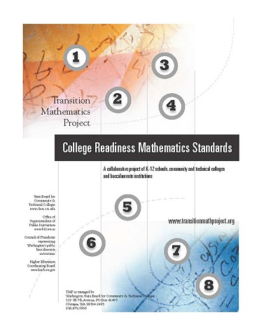 Report to the Gate's Foundation on Math Standards