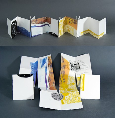Folded book from 1 sheet of paper