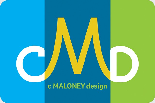 C Maloney Design Business Card (front)
