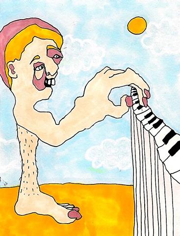 Peg Leg Piano