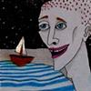 sail boat magnet