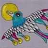 lightbulb bird magnet